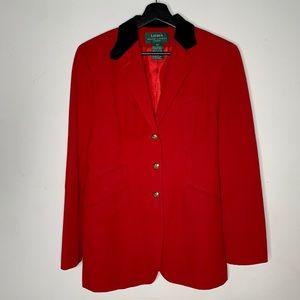 Oversized designer blazer